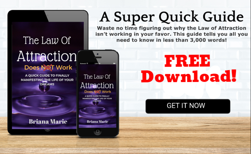 The Law of Attraction does NOT work. Free ebook