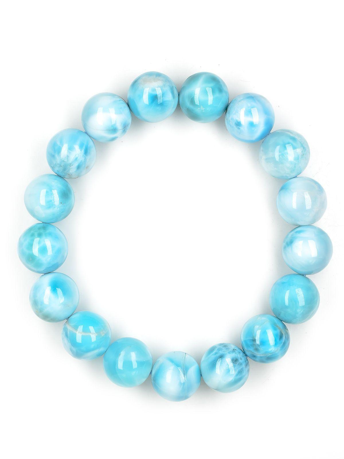 larimar beaded bracelet